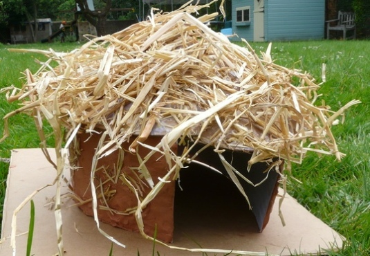 How To Make A Model Celtic Roundhouse Navigating By Joy
