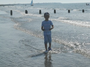 Beach Walks...at navigating by joy homeschool blog