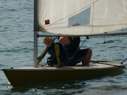 Sailing with Daddy at navigating by joy homeschool blog