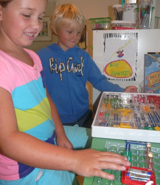 electricity project at navigating by joy homeschooling blog