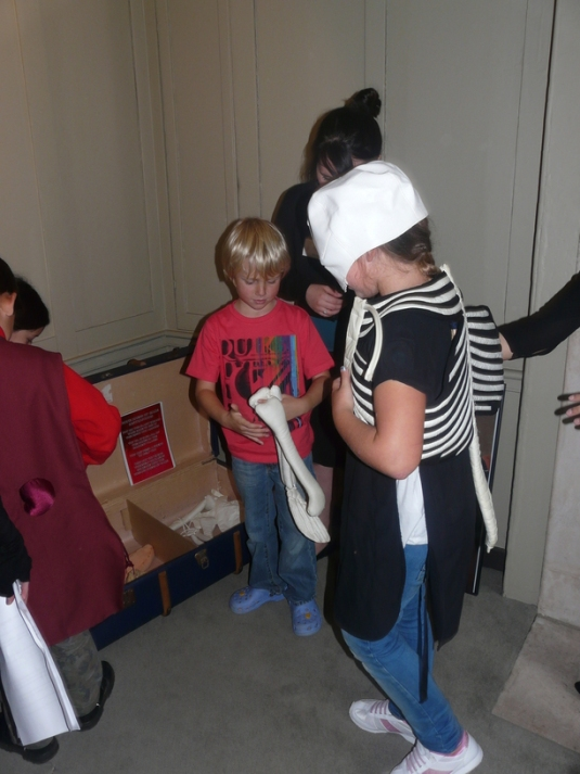 anatomy activities at benjamin franklin house - navigating by joy homeschool blog