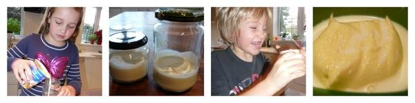 home made butter homeschool science fun