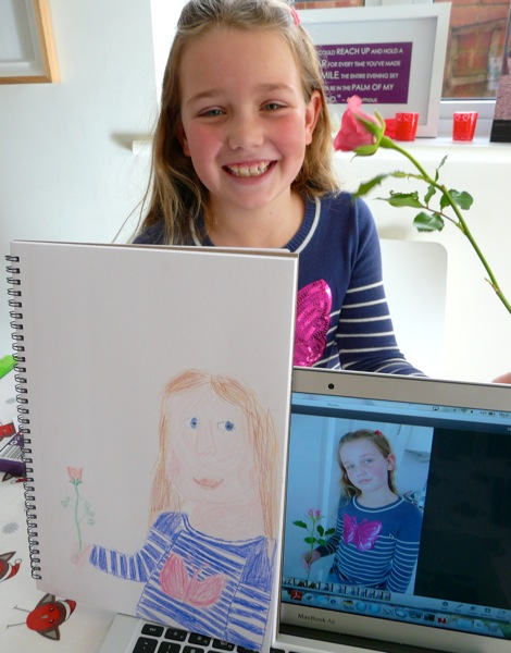 Portrait - homeschooling art